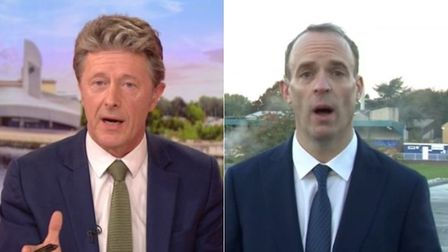 Dominic Raab clashes with Charlie Stayt on BBC Breakfast