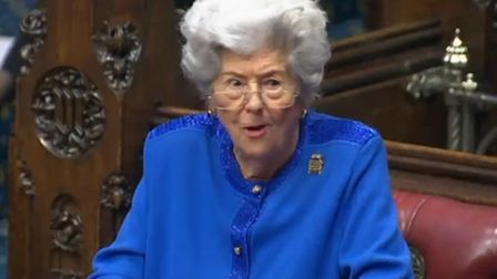 Betty Boothroyd in the House of Lords