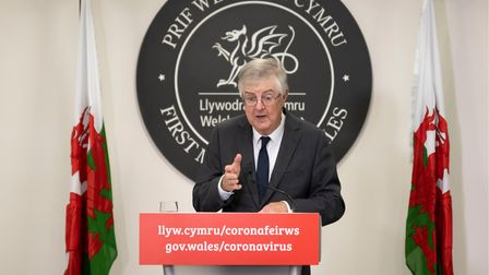 First Minister of Wales Mark Drakeford