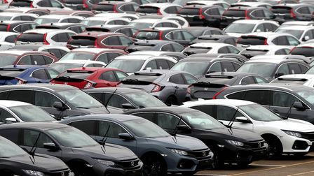 """New car sales fell by 7% last year with the industry blaming """"a perfect storm"""" for the decline. Phot"""