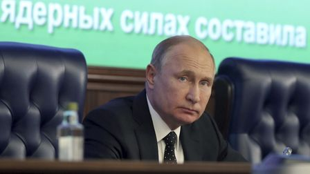 Russian President Vladimir Putin's country has been fomenting unrest and backing radical groups for