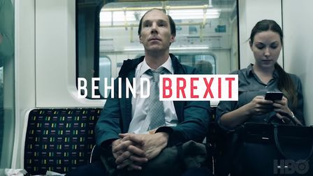 Benedict Cumberbatch plays Vote Leave boss Dominic Cummings in 'Brexit: The Uncivil War'. Photograph