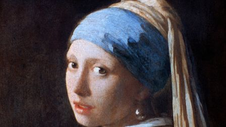 'Girl with a Pearl Earring', c1665. The girl's headdress has an exotic effect. Turbans were a popula