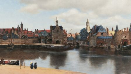 View of Delft, 1660-61, Mauritshuis.