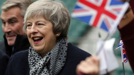 Prime Minister Theresa May. Photograph: Frank Augstein/PA.