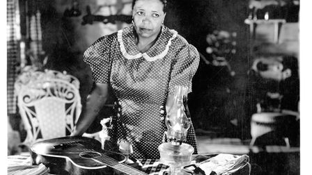 Publicity still portrait of American singer and actress Ethel Waters in the all-black-cast musical '