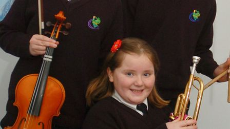 Inga Szmiel, Rebekah Hinchliffe and Cameron Chandler pupils selected for the National Childrens Orch