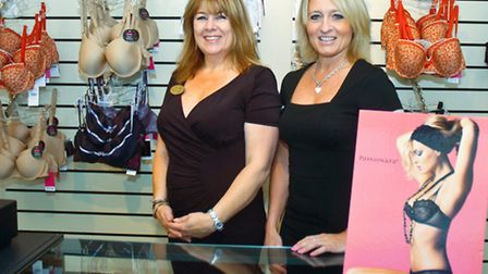 Owners Lesley Stokes and Sue Robinson.