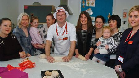 Healthy eating for young mums and thier children run by the schools PTA.