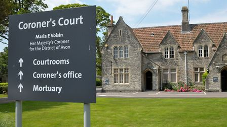 Inquest into death of Clevedon pensioner.