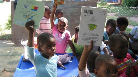 Books provided by the Za Foundation.