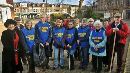 Clevedon Pride workers who have been nominated for a volunteer award.