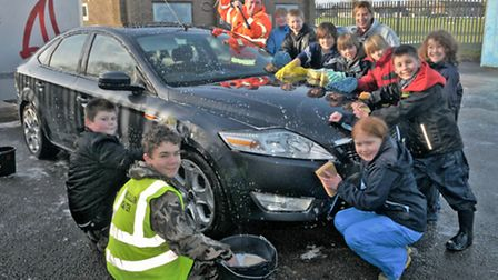 1st Clevedon Scout Group Car Wash.