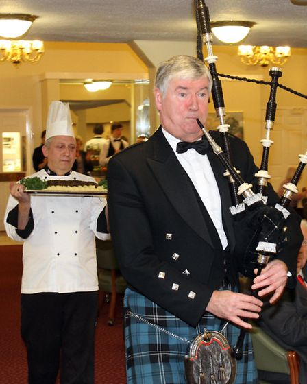 Burns Night at The Hawthorns. Picture by Thousand Word Media.