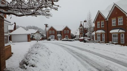 The Elms housing estate in Wraxall. Picture submitted by Times reader Jack Wright