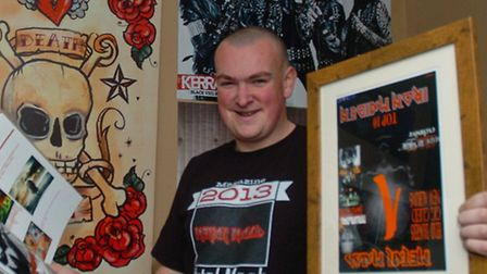 Troy Hares who has lauched his own music magazine.