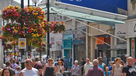 Business encouraged to apply for grants to revitalise the town centre.