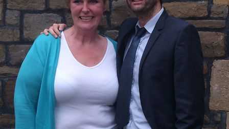 Broadchurch: Angie Smith with David Tennant