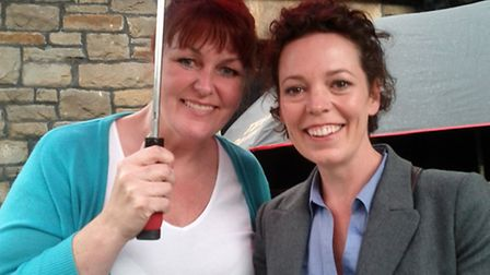Broadchurch: Angie Smith with Olivia Colman