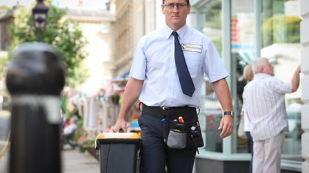 Broadchurch: Will Mellor in Clevedon's Hill Road