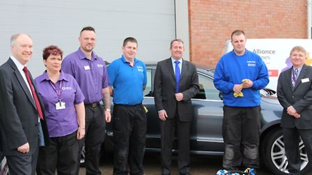 Alliance Homes recently launched Future Clean with the help of North Somerset MP Dr Liam Fox