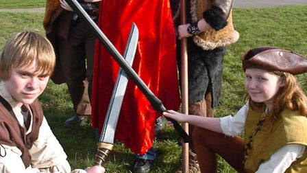 Live Action Role Play battles in costumes.