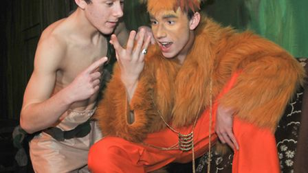 Backwell School's production of The Jungle Book