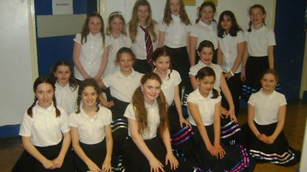 MAWS: Dancers from Backwell Junior School