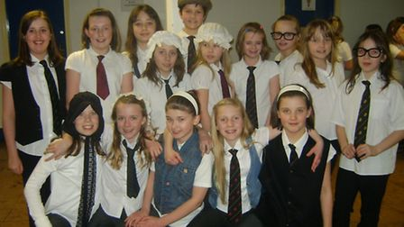MAWS: Singers from St Peter's Primary School, Portishead