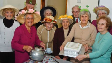 Clevedon Mixed Leisure club celebrating their 30th birthday.
