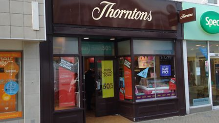 Thorntons is to close in May