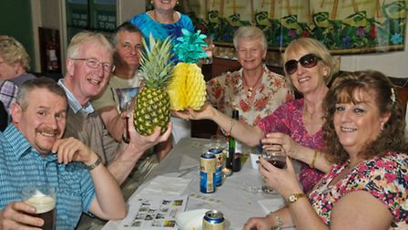 Backwell Lions Caribbean evening.