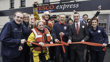Portishead's Tesco Express is formally opened