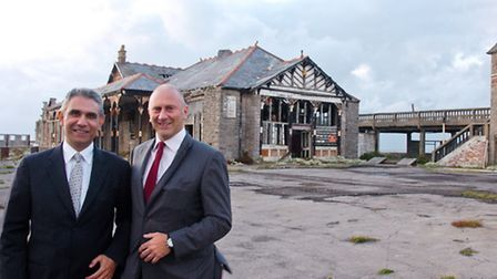 New Owners old Pier, Wahid Samady and Michael Ross.