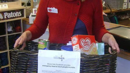Wickety Woo has become a foodbank collection point