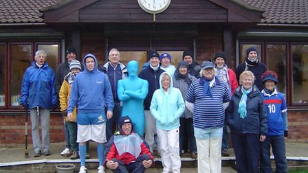 Nailsea and District Croquet Club players who took part in the contest