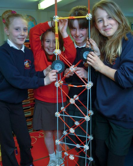 Pupils at work with their Lighthouse Models for Let It Shine WOW Day.