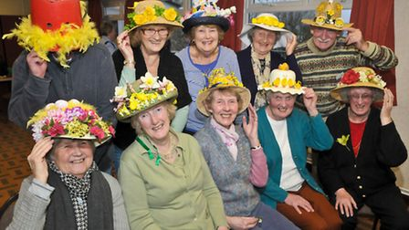 Redcliffe Bay Horticultural Society easter bonnet competition.