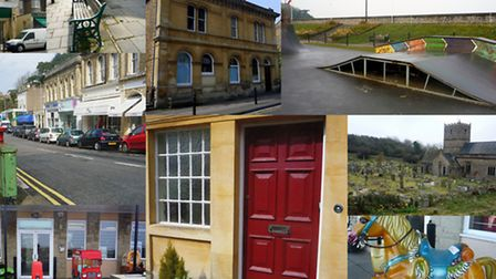 iwitness24 picture by Paula Palmer. A collage of locations used to film ITV drama Broadchurch.
