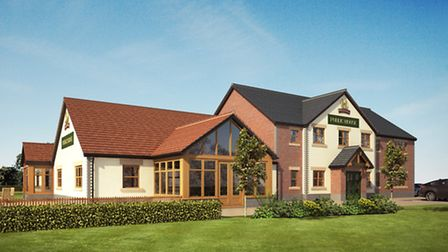 This is how Weston's new Hungry Horse pub will look.