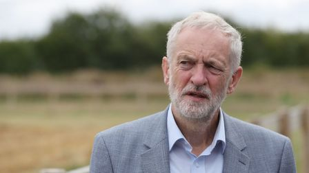 Labour leader Jeremy Corbyn has been warned his 'hedging' over Brexit could lead to a split in his p