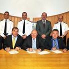 The signing of the Special Branch collaboration agreement between the five South West forces