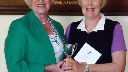 Sally Irlam and Sue Andow.
