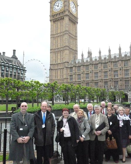 Federation of Small Businesses members visited MPs at Westminster
