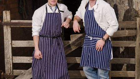 James Mansfield and James Flower nominated for an award for their Field and Flower meat boxes.