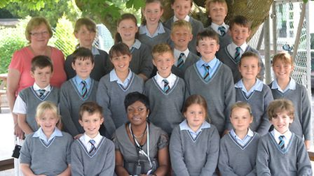 Sandrai visiting Fairfield School from Ghana as part of an exchange project.