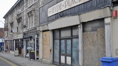 Weston's empty shops could be given a makeover by some of the town's talented artists.