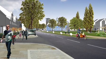 Plans for the netx phase of the £400million Locking Parklands development have now been submitted.