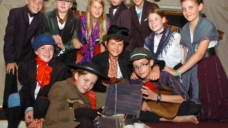Year six production of the musical 'Oliver!'