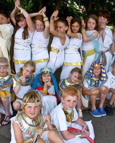 Egyptian Day.